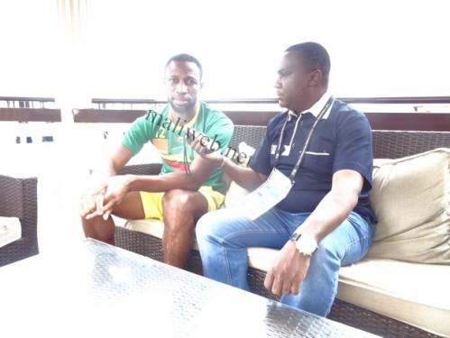 maliweb 27.01.15 Seydou Kéïta avec notre confrère Alou B HAIDARA