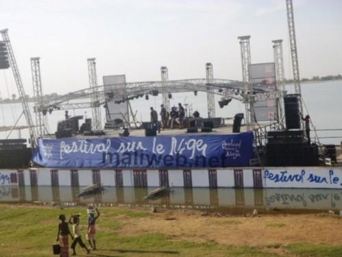 Le podium du festival du Niger