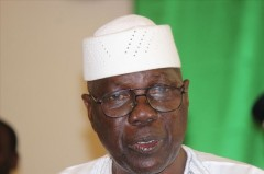 Le PM du Mali, Modibo Keita
