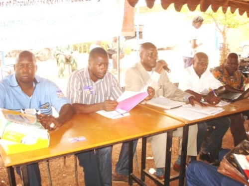 l'AME a organisé une assemblée générale le 21 mai 2014, sur le terrain de Djélibougou