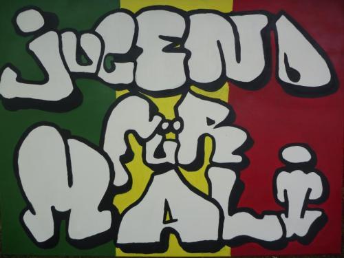 Jugend für MaliSchrift