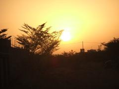 lever du soleil sur le plateau 01.11.12