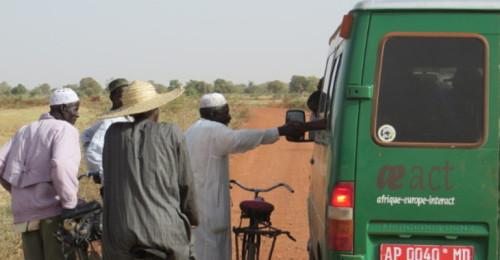 Unterwegs nach Saou und Sanamadougou im April 2015