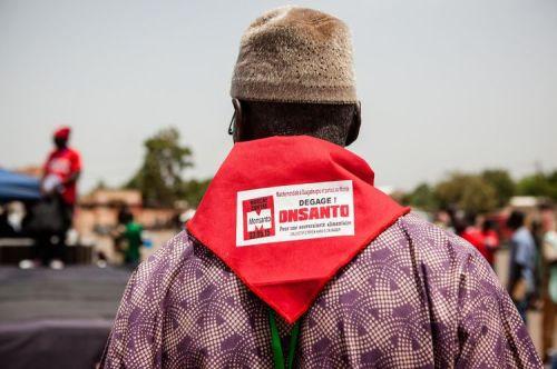 Marche anti-Monsanto à Ouagadougou