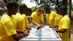 Mobisol has 220 employees in East Africa, all trained by German technicians