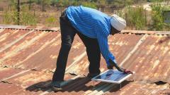 Die Solaranlagen funktionieren auch bei Regen