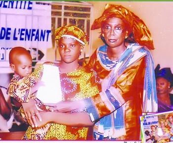 Fatoumata Siré Diakité, présidente APDF