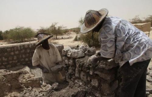 Les mausolées bientôt reconstruits (c)Sébastien Rieussec