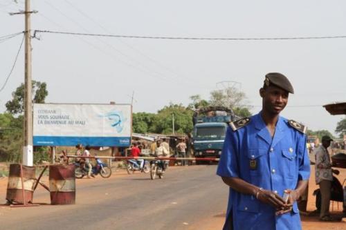 Entrée de Zégoua à la frontière ivoirienne
