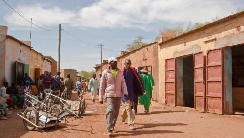 Rue de Douentza au Mali
