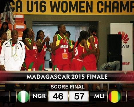 Les U 16 filles du Mali championnes d'Afrique 4 étoiles !