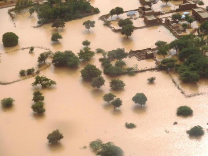Inondations à Ménaka, août 2015