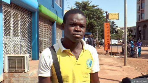 Demba Djouba verfehlten die ersten Kugeln der Attentäter nur knapp