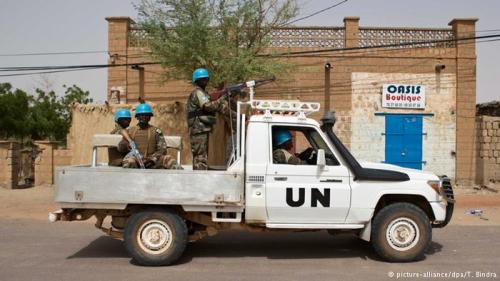 UN-Soldaten in Mali