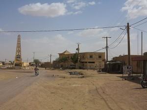 Le centre de la ville de Kidal