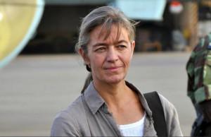 AFP 090116 Béatrice Stockly en 2012 à Ouaga