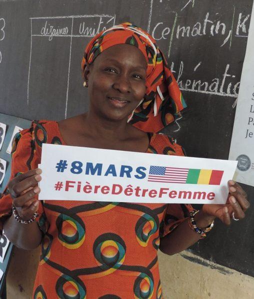 8mars_Mme Haïdara Mouneïssa Maïga