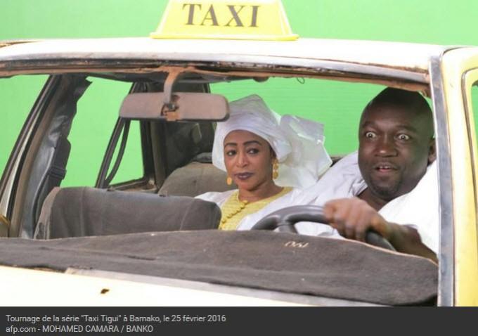 AFP 060416Tournage Taxi-tigui