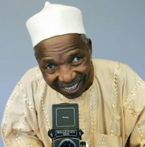 AFP 15.04.16Le photographe malien Malick Sidibé le 12 juillet 2006 à Plouha