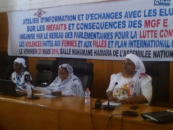 Foto (c) malijet: Lutte contre les MGF, atelier à Bamako le 25 mars 2016