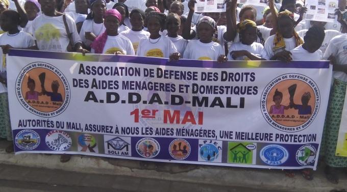 ADDAD Défilé du 1er Mai de l'UNTM