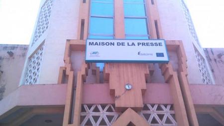 Foto (c) maliweb: Maison de la presse à Bamako
