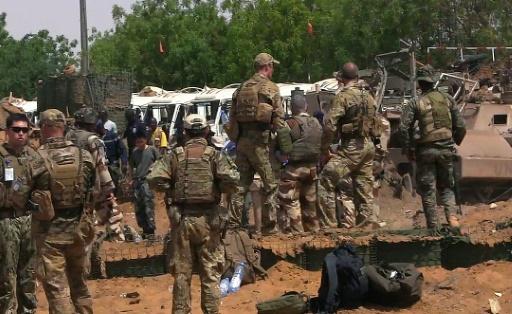 Des soldats de l'ONU, le 1er juin 2016 à Gao au Mali