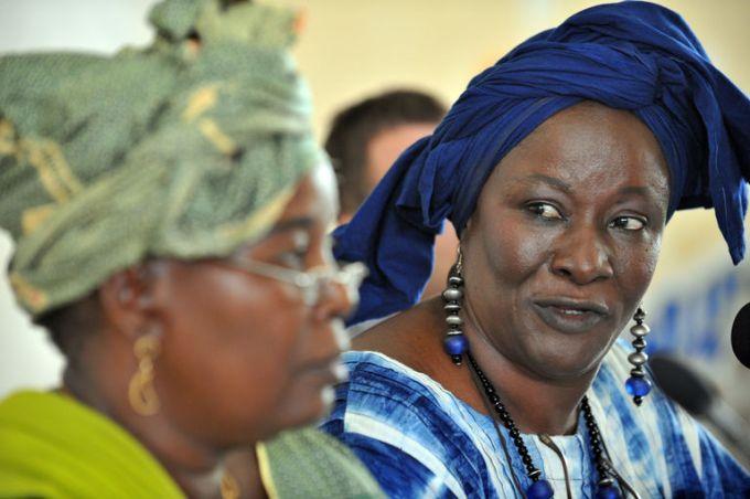 AFP 23.06.16L'ancienne ministre de la culture et du tourisme malienne et écrivaine polémiste, Aminata  Traoré