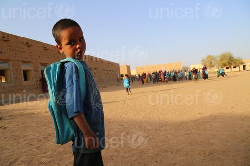 UNICEFThe Baye Ag Mahaha school in the district Etambar in Kidal Town, Mali was looted, damaged and occupied