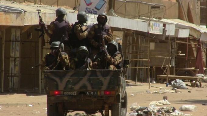 AFP 19.07.16Malische Soldaten Mitte Juli in Gao