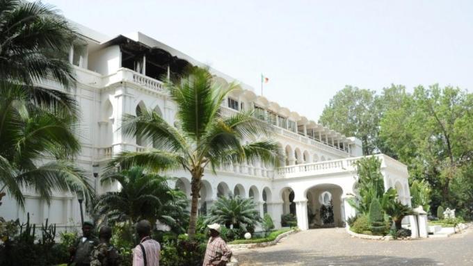 Koulouba, le palais présidentiel malien.