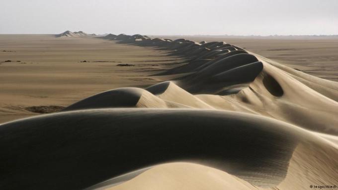 Foto (c) DW/Alimdi:  Die Ténéré-Wüste in Niger