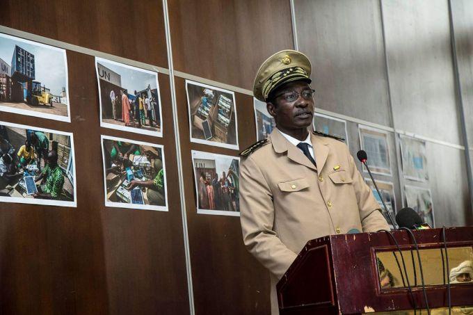 L'intervention du gouverneur de la région de Kidal, Koina Ag Amadou