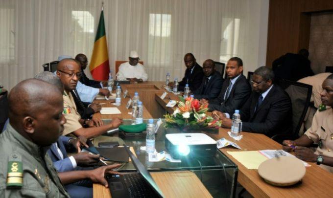 AFP 190716Conseil de sécurité autour du président malien