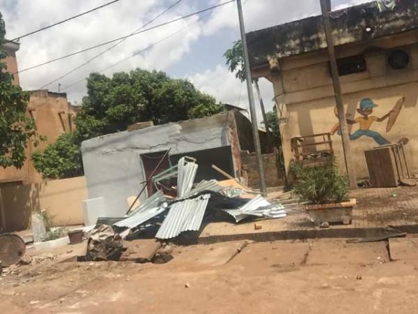 maliactu 310716Déguerpissement dans la Commune II du District de Bamako
