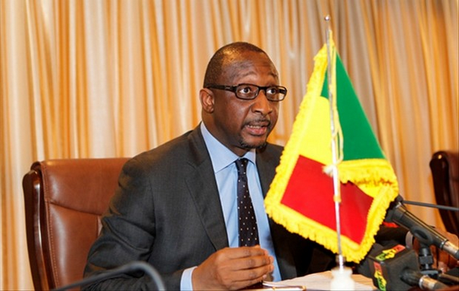 MW 030916Tiéman Hubert Coulibaly, ex-ministre de la défense