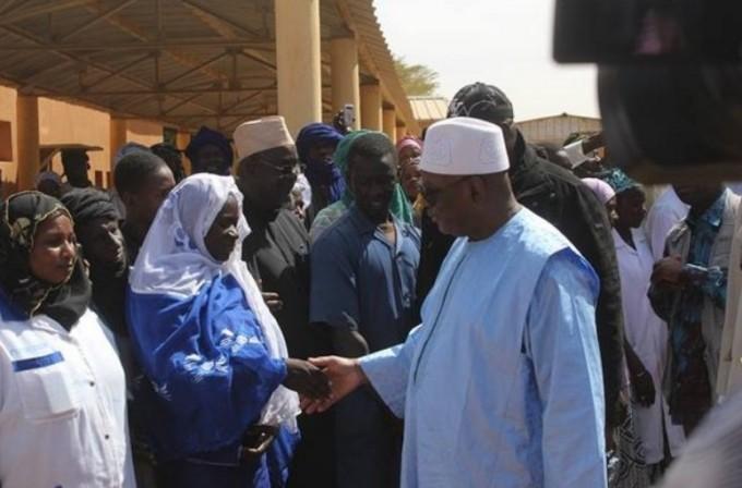 Le président malien Ibrahim Boubakar Keïta à Gao