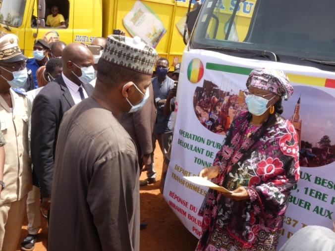 lejalon.com : La maire de la commune III de Bamako